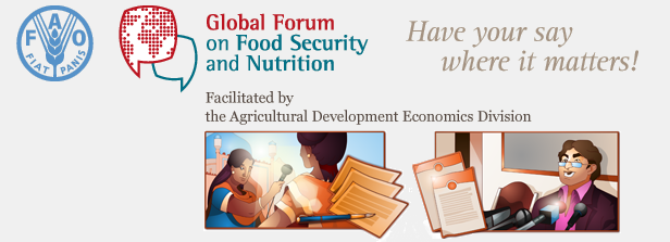 Online Global Forum on Food Security and Nutrition consultation