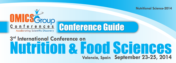 3rd International Conference and Exhibition on Nutrition and Food Sciences