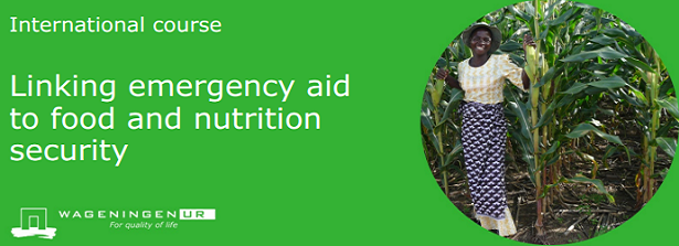 """Course: """"Linking emergency aid to food & security"""""""