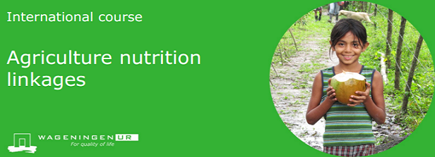 Course: 'Agriculture nutrition linkages'