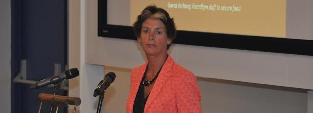 Report of 2014 Dick de Zeeuw lecture by Gerda Verburg