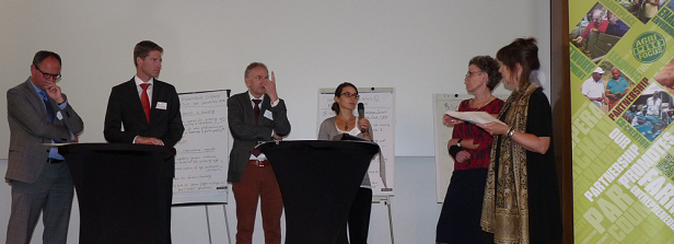 Sustainable agriculture: lively multi stakeholder debate facilitated by Agri-ProFocus