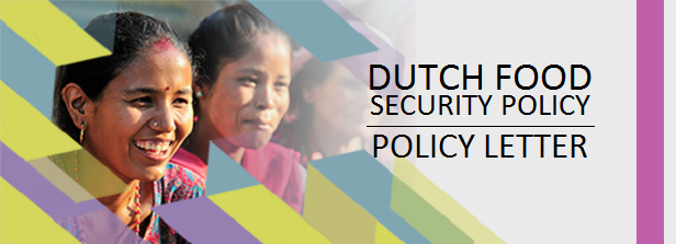 Policy letter: Dutch contribution to global food security