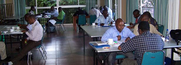 ARF - an innovative research grant: PAEPARD write-shop Uganda