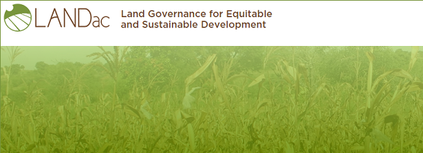 Land governance and food security