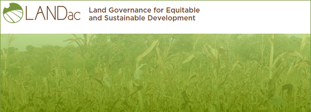 Knowledge agenda on land governance and food security