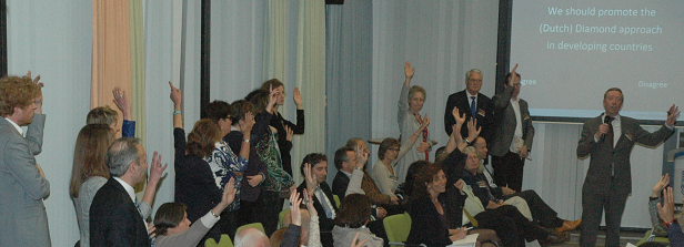Lively event 'Scaling up Dutch efforts for Global Nutrition'