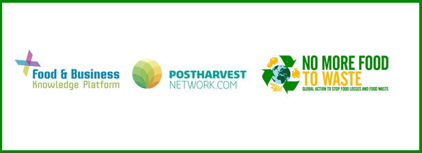 F&BKP and Postharvest Network present at No More Food to Waste Conference
