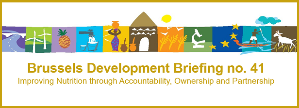 Improving nutrition through accountability, ownership and partnerships