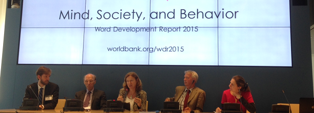 World Development Report 2015 calls for knowledge of human mindsets in development policies