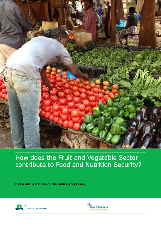 "Download the report ""How does the Fruit and Vegetable Sector contribute to Food and Nutrition Security?"""