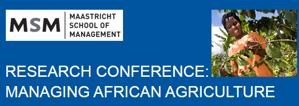Research Conference: Managing African Agriculture