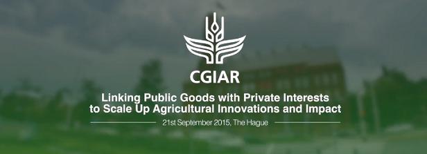 Video impression of CGIAR Public-Private Sector event