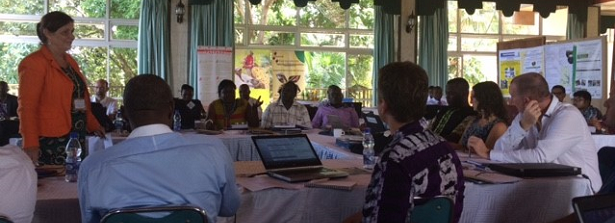 Successful workshop in Uganda on knowledge co-creation and research uptake for food security