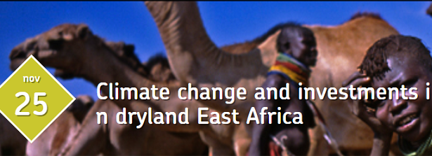 Climate change and investments in dryland East Africa