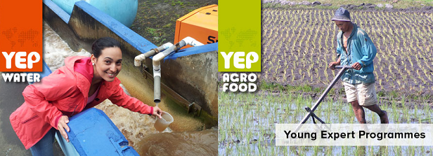YEP Agrofood and Water: positions and vacancies