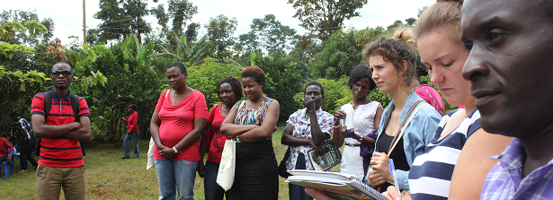 Dynamic learning events held in Africa on land governance and food security