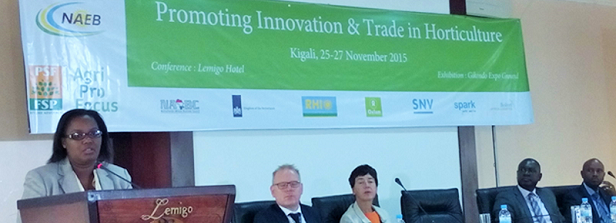 Promoting Innovation and Trade in Horticulture in East Africa