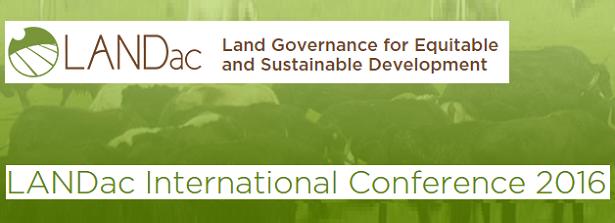 LANDac International Conference 2016