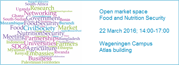 Open market space Food and Nutrition Security 2016