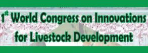 1st World Congress on Innovations for Livestock Developments