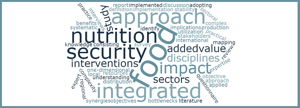 Integrated approaches to food and nutrition security