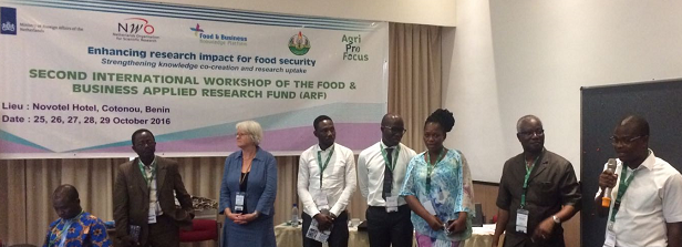 ARF workshop in Benin on enhancing research impact for food security completed successfully