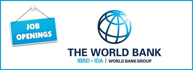 Job openings at the World Bank