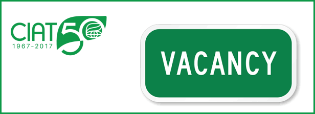 Senior vacancy at CIAT, Colombia
