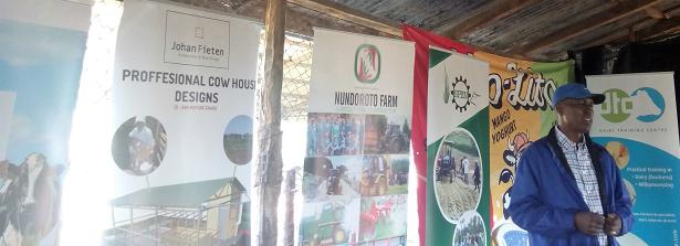 Learning Journey Kenya - Visit 1 Dairy (June 2017)