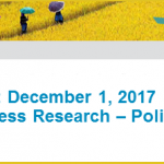 Save the date: Food & Business Research - Policy Dialogue