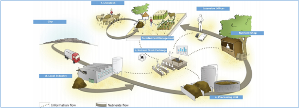Towards a circular Economy for Soil Nutrient management in Sub-Sahara Africa: from Concept to Business Case