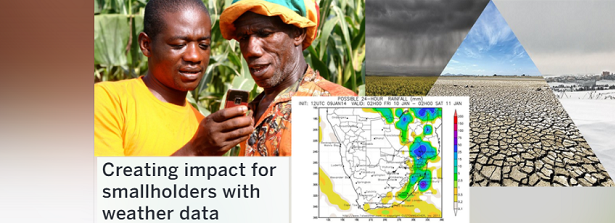 Creating impact for smallholders with weather data