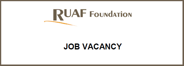 Vacancy RUAF Foundation