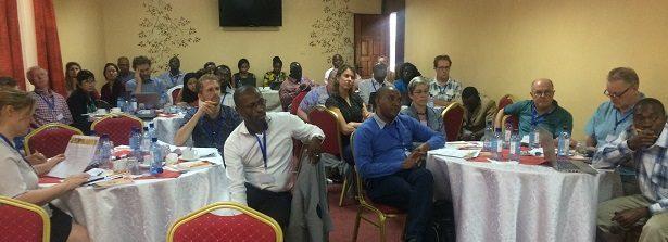 Report GCP-2 midterm meeting Kenya