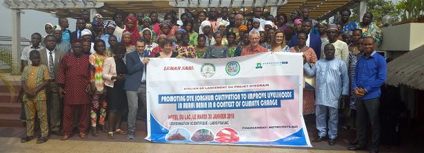 Launch ARF Dyegrain project Cotonou
