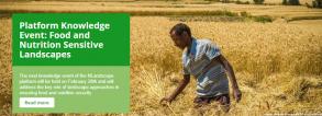 Food and Nutrition Sensitive Landscapes