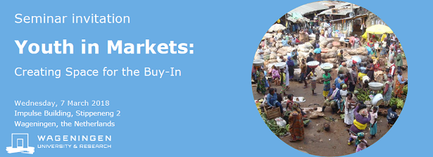Seminar Youth in Markets: Creating Space for the Buy-In