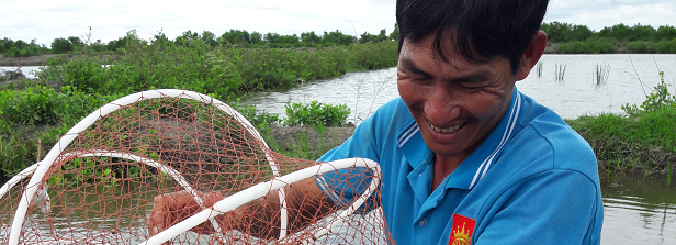 Are shrimp farmers actual gamblers?