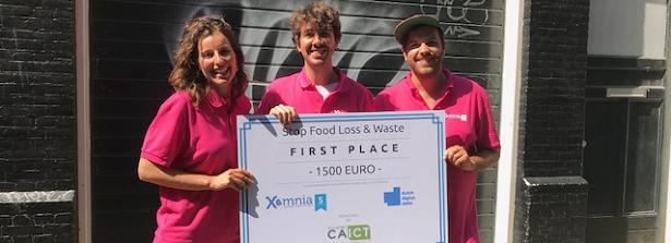 May 19-20 Datathon Food Loss and Waste (FLW) - winning team