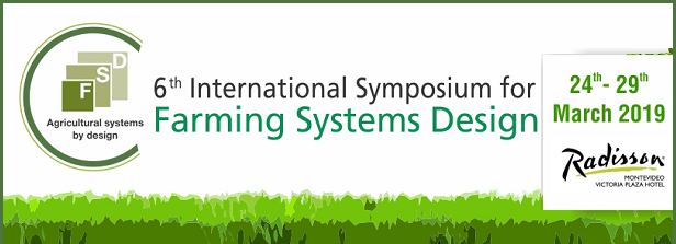 6th Farming Systems Design Conference (FSD6)