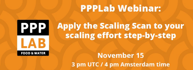 PPPLab webinar on the scaling scan