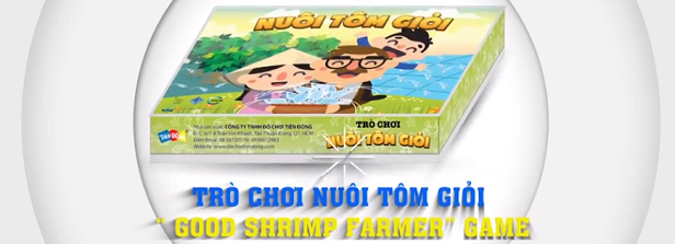 Shrimp Farming Board Game