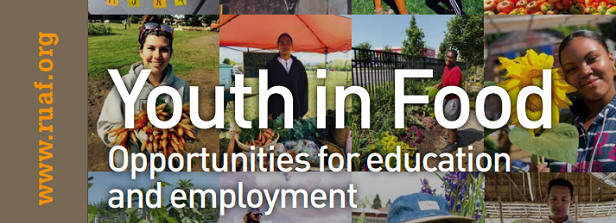 Youth in Food: Opportunities for education and employment