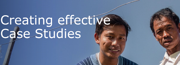 Creating effective Case Studies