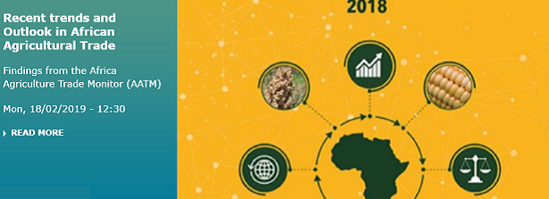 Recent trends and Outlook in African Agricultural Trade