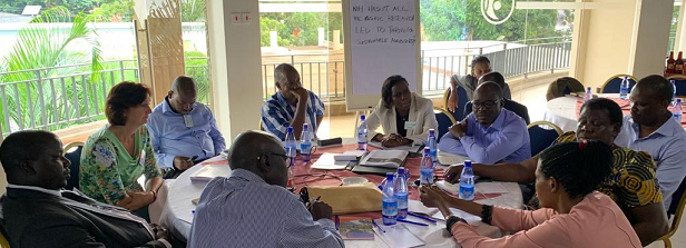 Scaling opportunities workshop for Ugandan Applied Research Fund projects