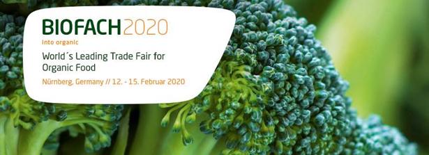 BioFach February 12-15, 2020