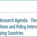 NWO - Dutch Research Agenda - Theme: SDG Interactions and Policy Interventions in Developing Countries