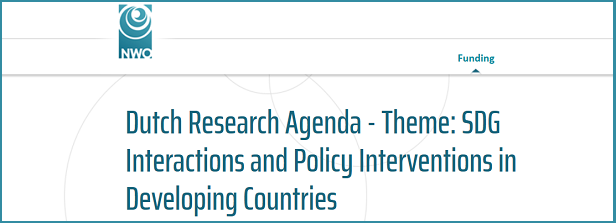 Dutch Research Agenda - SDG Interactions and Policy Interventions in Developing Countries
